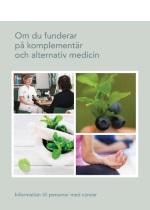 Ny broschyr om Komplementär och Alternativ Medicin