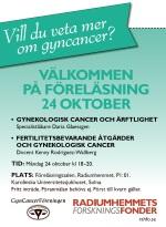 Vill du veta mer om gyncancer?