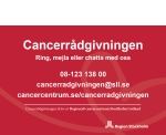 Cancerrådgivningen har nu helgöppet